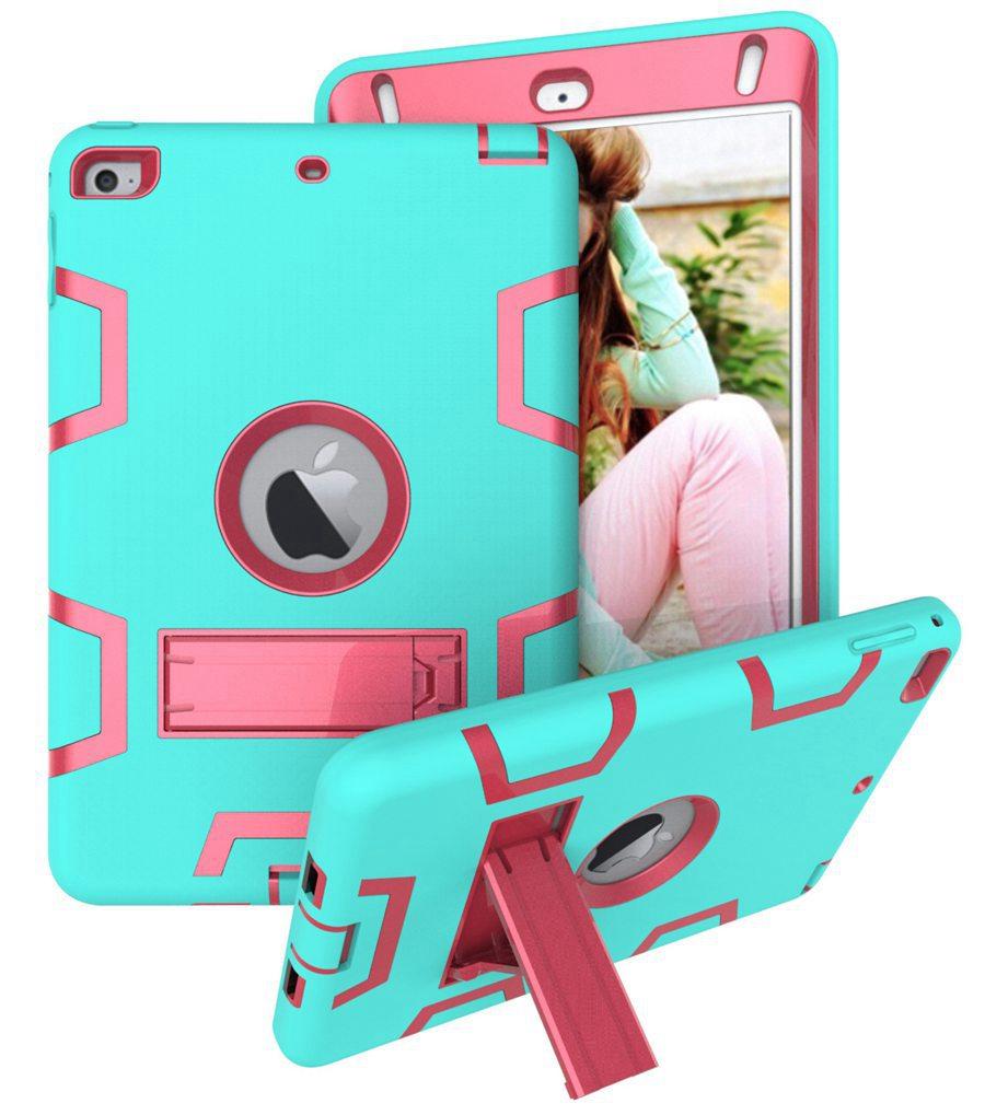 Baby Kids Safe Heavy Duty Silicone Armor Case For New IPad Mini 5 Mini5 5th Gen 2019 Back Cover For Ipad Mini 4 Mini4 Tablet