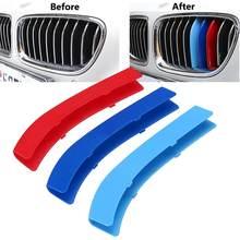 Garniture de la calandre de voiture 3 pièces   Pour BMW série 1 3 5 F30 F31 X5 X6 E90 E91 F10 F11 F18 E60 E61 E70 E84 F48 F20 F21