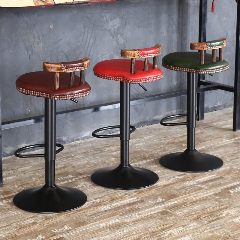 Скандинавские современные барные стулья для кухни и высокий стол роскошные высокие стулья Регулируемый подъемный барный стул обеденные ст... обеденные группы из стекла для кухни