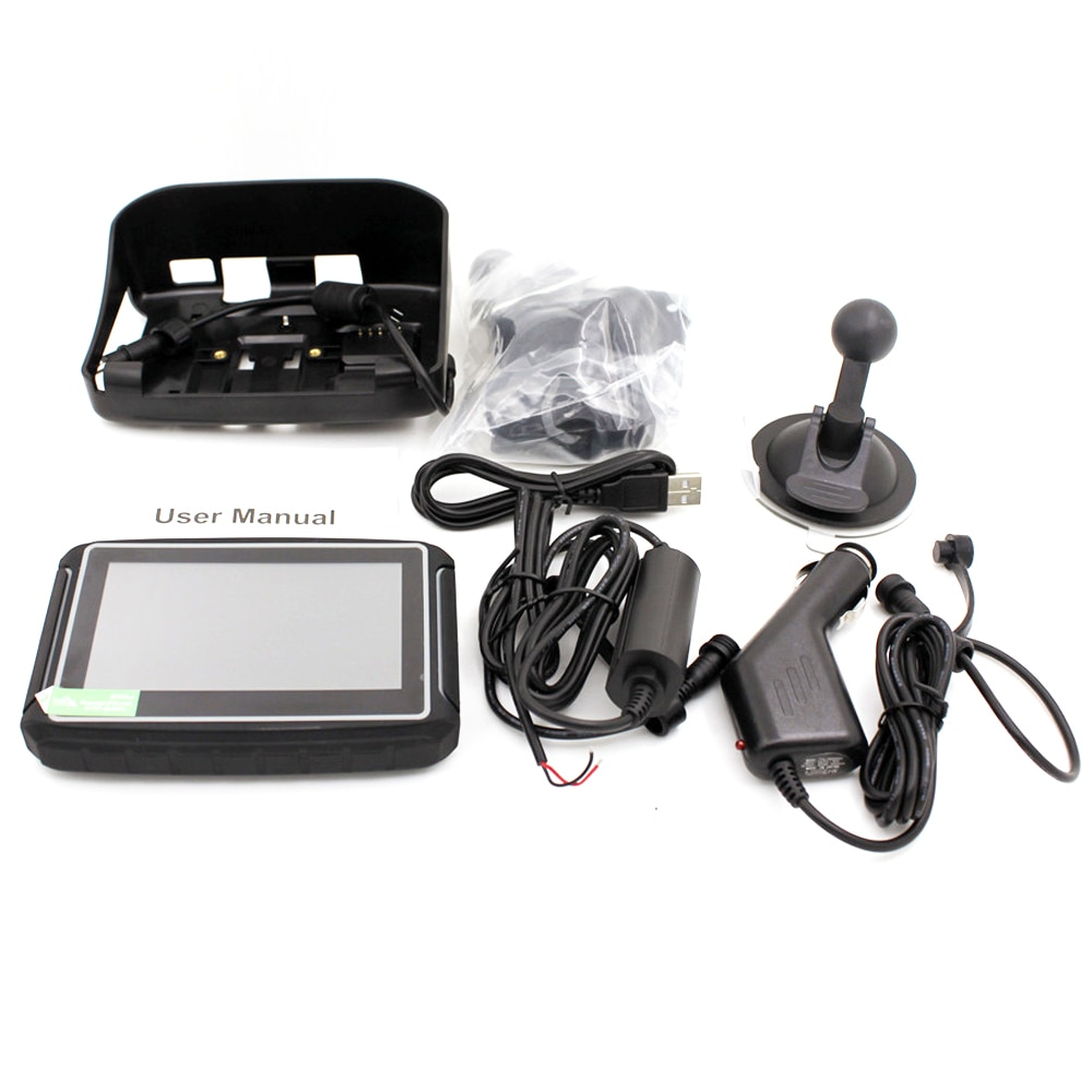 Karadar 8G free map Wince 4.3 inch navigation gps for bike  - buy with discount