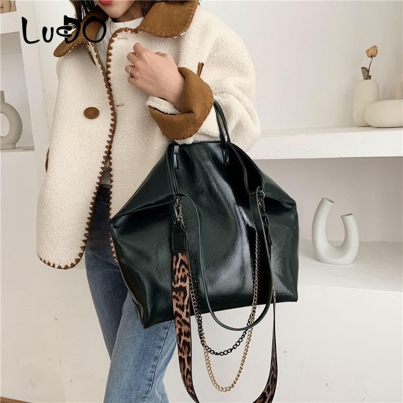 LUCDO bolso de mano para mujer, bolso de hombro tipo bandolera grande de cuero artificial para mujer, bolsos grandes tipo mensajero con asa superior, bolso suave