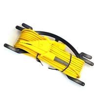 ziboo test lead for earth ground resistance tester meteryellow10 m for uni t ut521