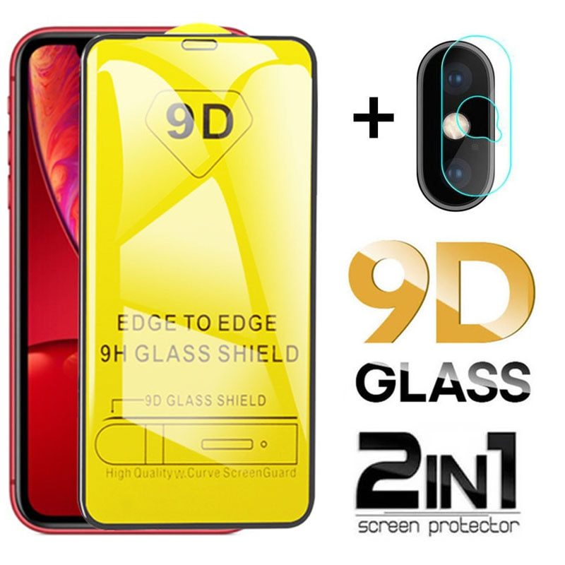 9D Tempered Glass for IPhone 7 8 6 6S Plus SE 2020 Screen Protector Protective Glass on For Apple 11