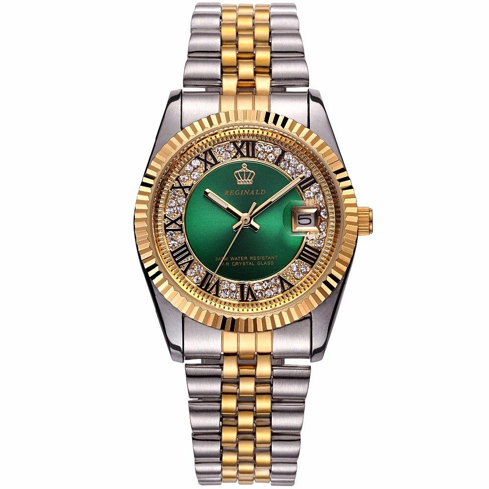 Alta qualidade quartzo moda masculina completa aço relógio de negócios relógios casuais relógios masculinos