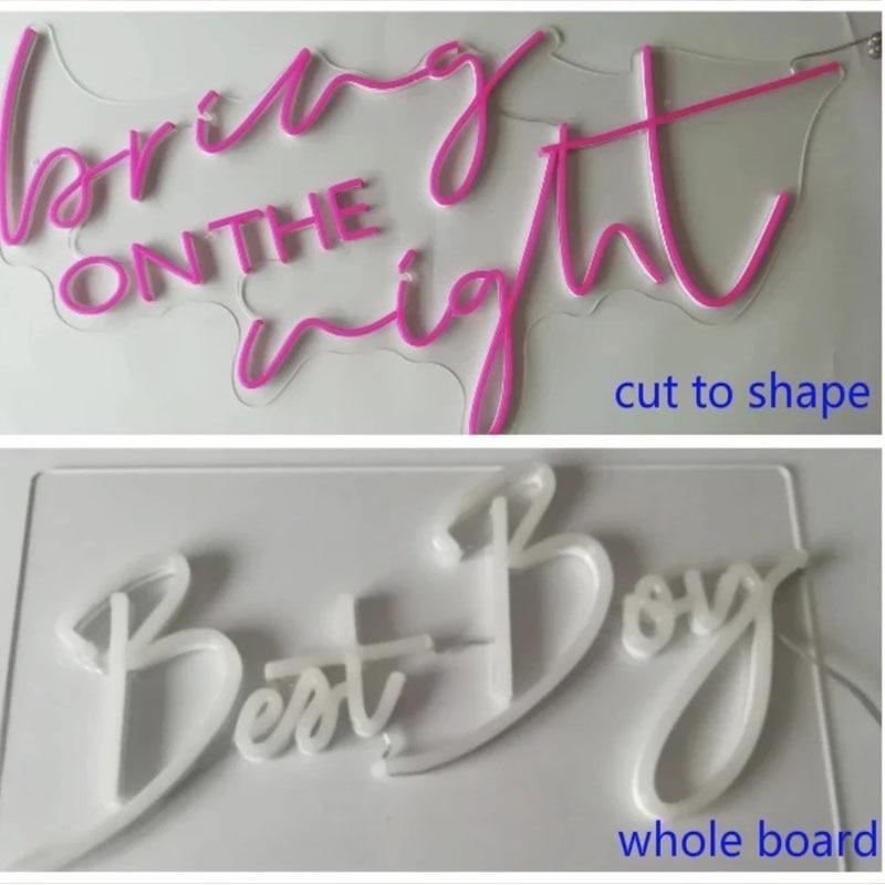LED neon custom logo, wedding, birthday, room wall, bedroom, party light, store decoration enlarge