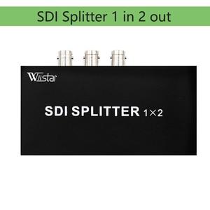 Wiistar SDI Splitter 1x2 Multimedia Support 1080P TV Video For Projector Monitor Camera free shipping