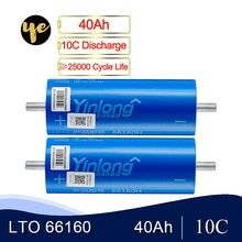 Il Trasporto Libero 12 Pz/lotto 30Ah 35AH 40AH 66160 2.3V Lto Al Litio Titanato Cellula di Batteria per Batteria Fai da Te 12V 24V 36V 48V 60V