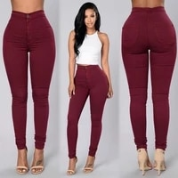 high waisted stretch pants slim fit pencil trousers leggings women clothing pants sexy lady skinny woman summer plus size s 4xl