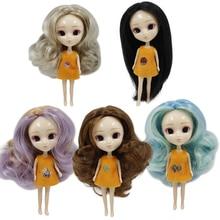 DBS mini Pullip puppe 11cm wie BJD eine vielzahl von haar farbe frisur kleidung gelegentliche mädchen geschenk spielzeug