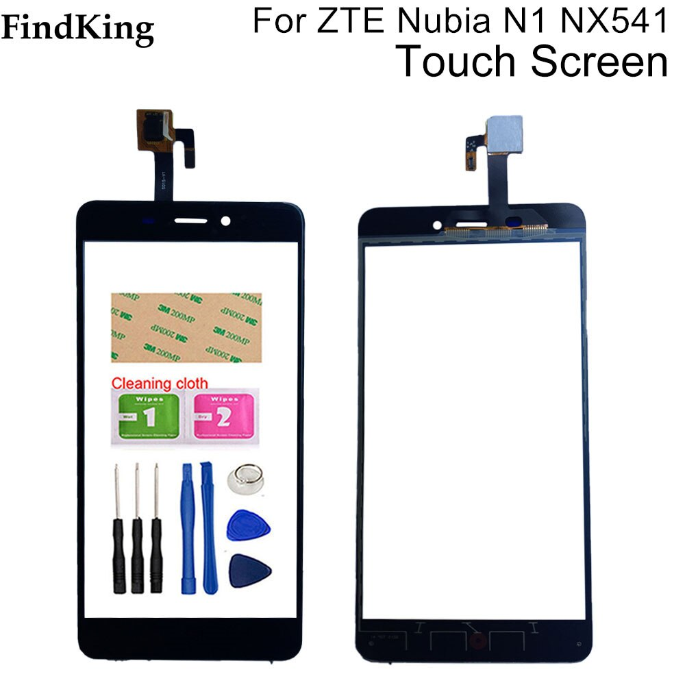 Mobile Phone Touch Screen For ZTE Nubia N1 NX541J Touch Screen Digitizer Glass Panel Sensor Tools Ad