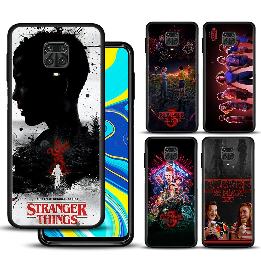 Stranger Things-3 carcasas Para Xiaomi Redmi Note 10, 9, 9s, 9T, 8,...