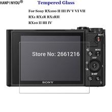 Pour Sony DSC-RX100 V VI VII RX10 RX1R II III IV RX1 RX1RII M2 M3 M4 M5 M6 M7 verre trempé 9H 2.5D Film de protection décran de caméra