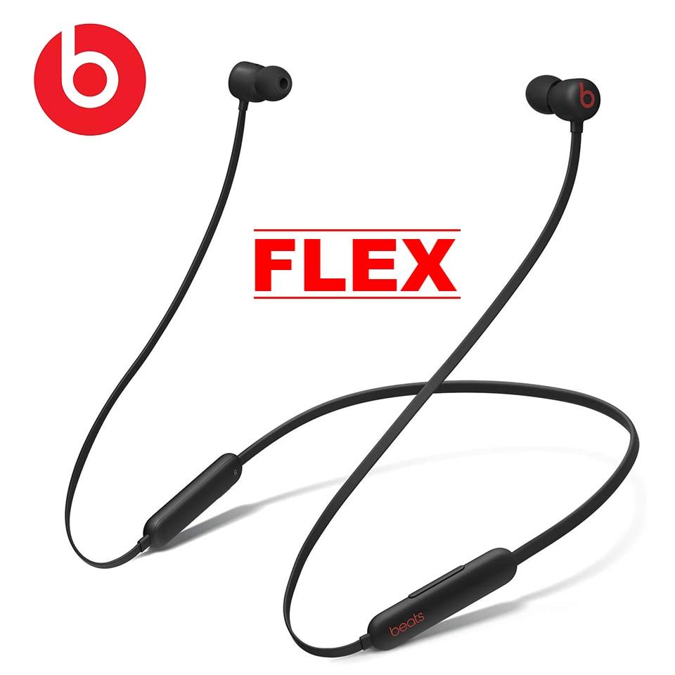 Original Beats Flex Wireless Bluetooth Earphone Magnetic Earbuds Stereo Headphones Sport Headset Hands-free with Mic 12 Hours