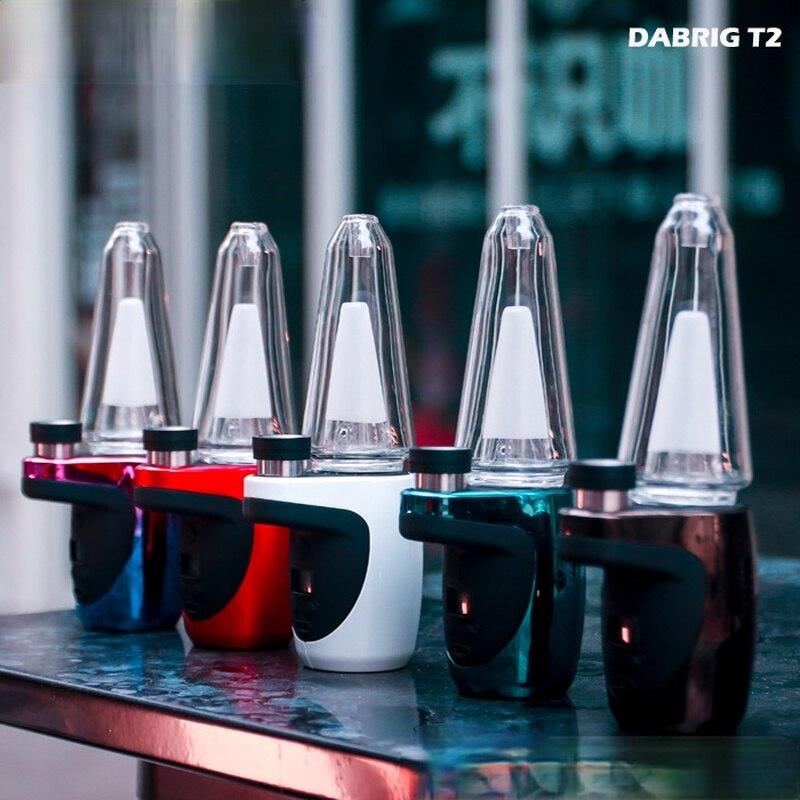 T2 LED Hookah Glass Smoke set Accessories Big Smoke Hookah Creative Pipe Smoking Set for men gift enlarge