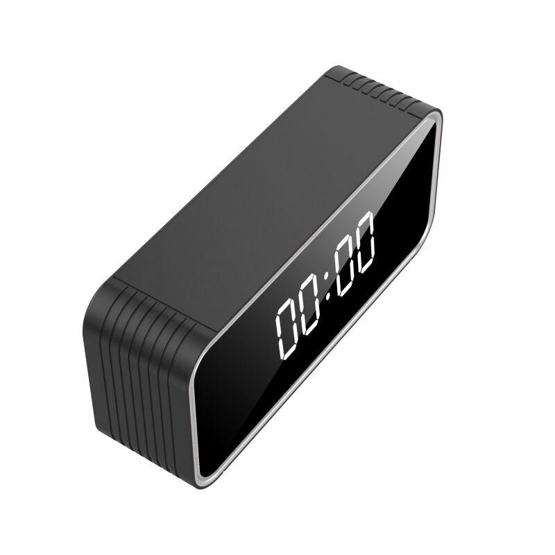 H13-ساعة كاميرا WIFI 4K HD ، متوافقة مع بطاقة ذاكرة 128 جيجا بايت كحد أقصى ، مسافة 6 متر ، كشف AVI Video Home Security