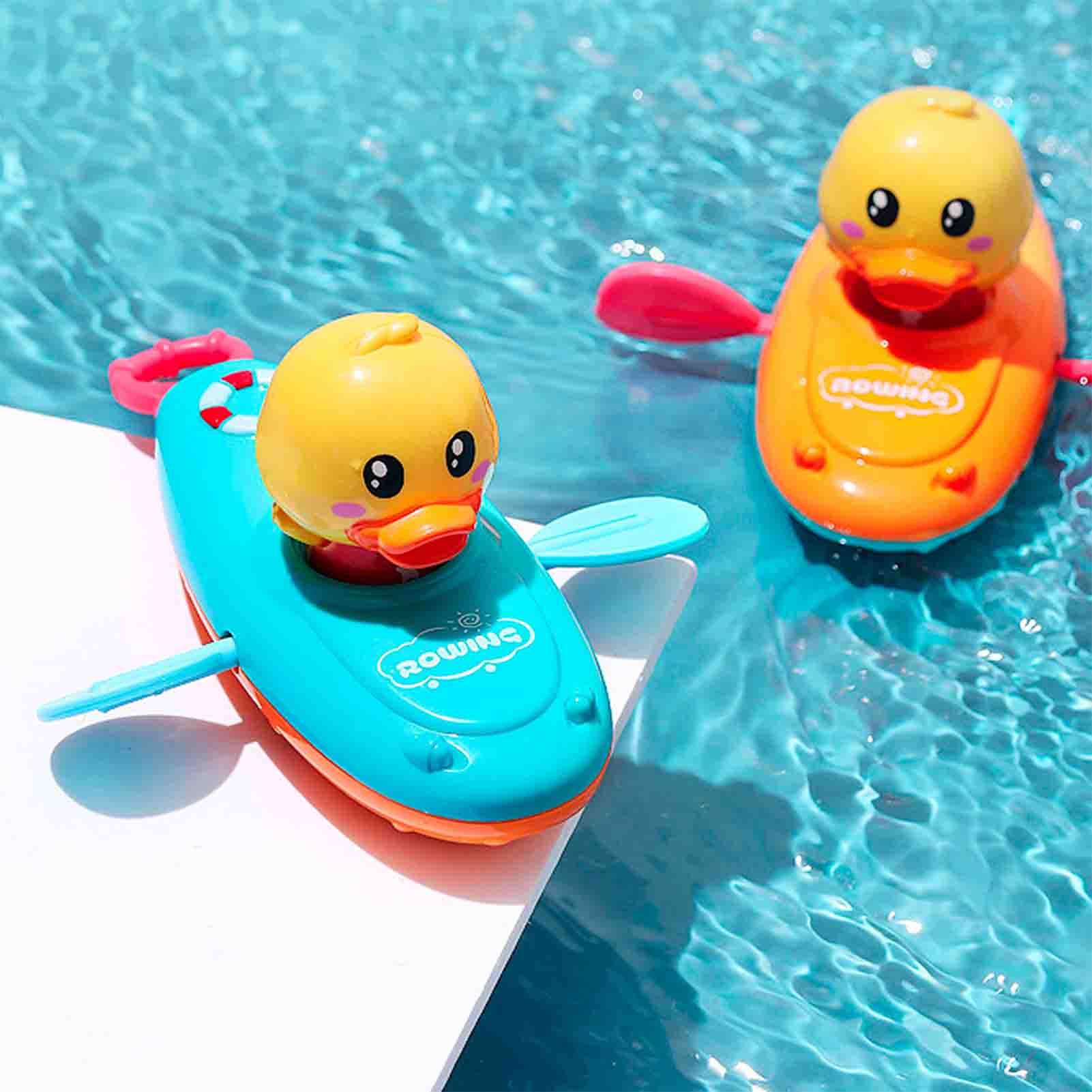 Детские игрушки для игры в воде гребная лодка детская желтая гребная утка для купания детская ванная комната на цепочке пляжный кабель нечитаева н детская комната для игры отдыха и учебы