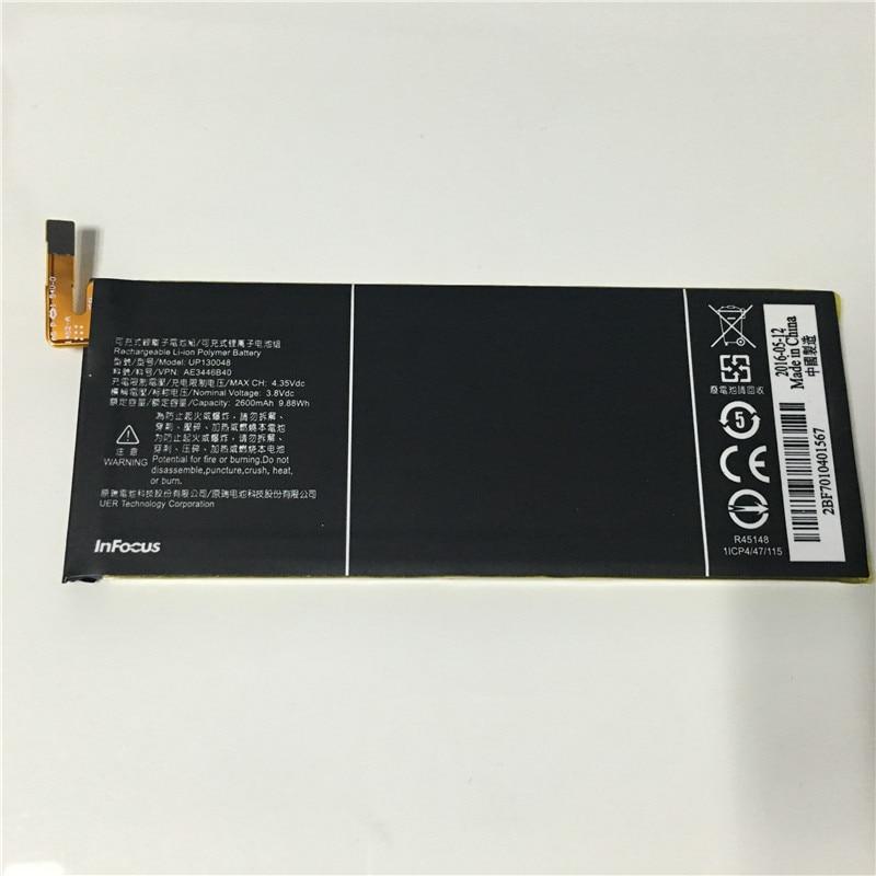 100% original para infocus M810 UP130048, batería de 2600mah, 9,88wh, en stock