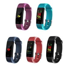 Date 115Plus couleur écran Bracelet intelligent Sport montre intelligente pression artérielle exercice dynamique surveillance de la fréquence cardiaque étape C