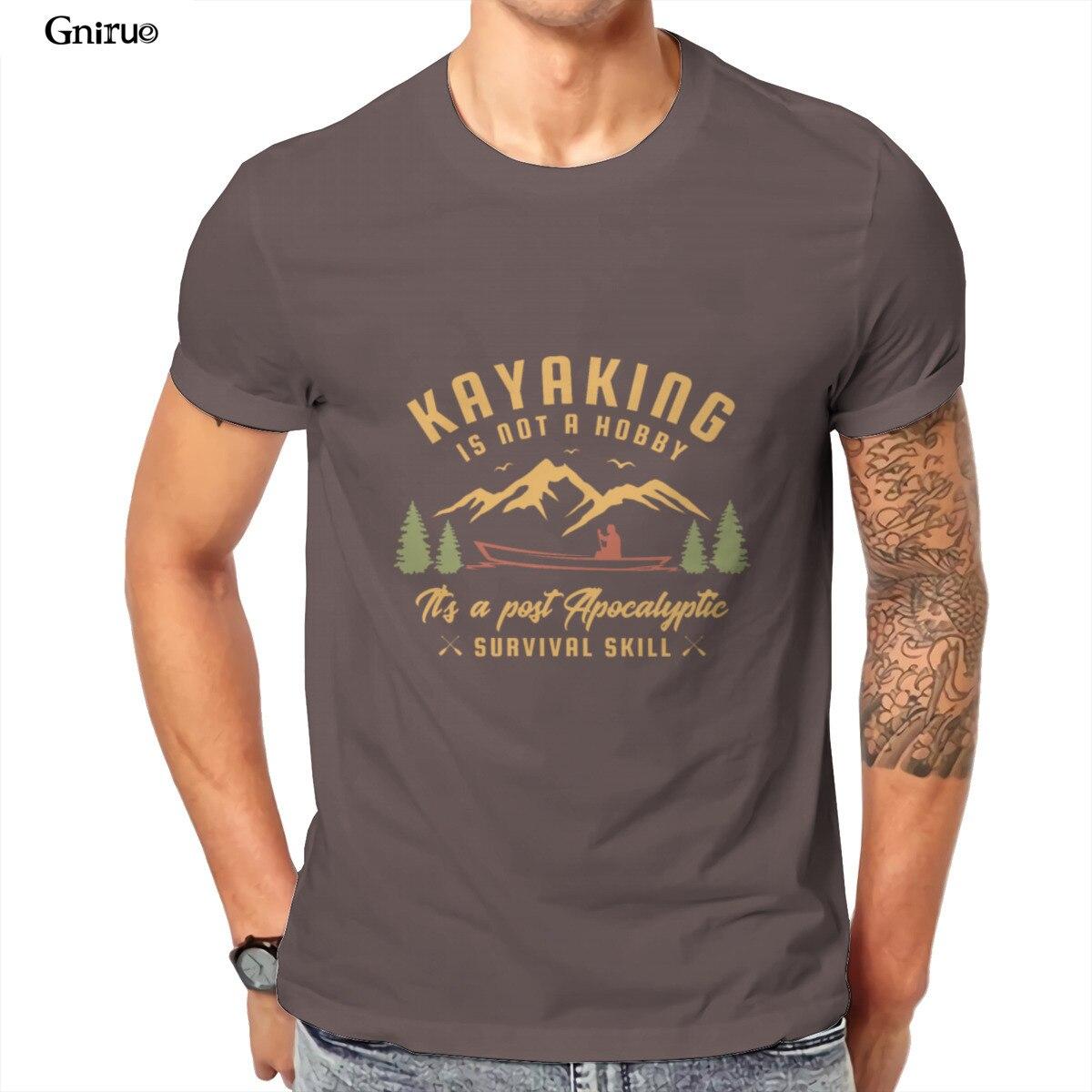 Camiseta de Kayak no es un pasatiempo, para hombres y parejas, Punk,...