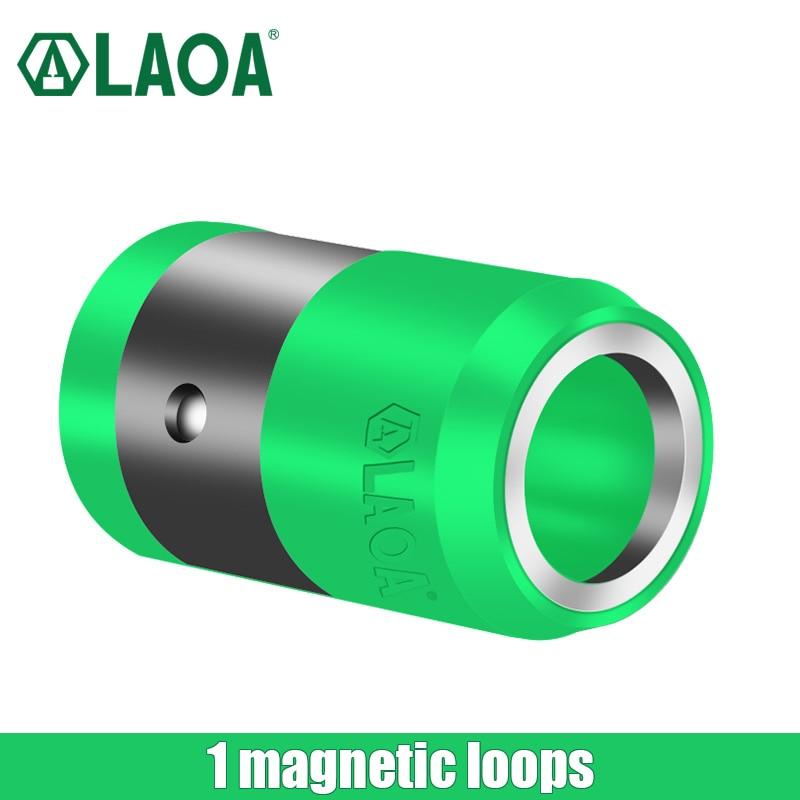 Punta per cacciavite S2 da 1/4 di pollice con anello magnetico, punte - Utensili manuali - Fotografia 4