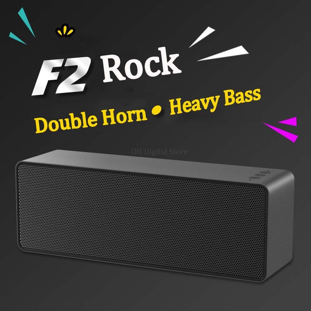 F2 Creative Bluetooth Speaker Mini Wireless Computer Card Graffiti  Color Painting Bass Gun Commander Endurance enlarge