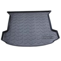 special rubber tpv car trunk mats for cadillac xt5 durable waterproof cargo liner boot carpets for xt5
