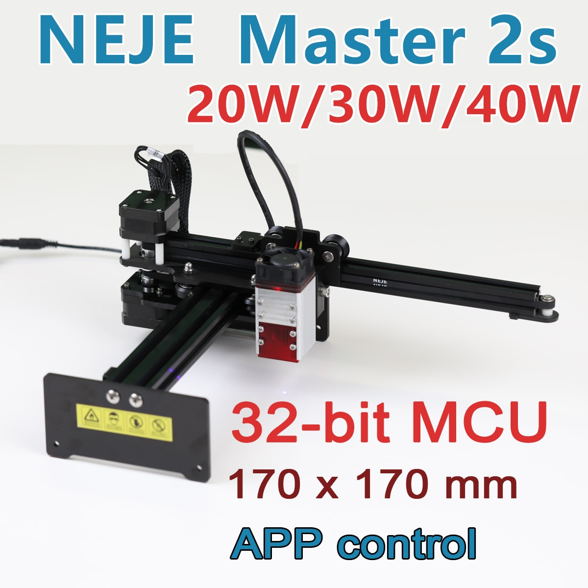 ORTUR Laser Master 2 Laser Engraving Cutting Machine With 32-Bit Motherboard 20w 30w 40w Laser Printer CNC Router Laser Engraver ortur laser master desktop laser engraver cutter laser engraving machine 32 bit motherboard laser grbl control software easy to install