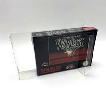 Boîte de Collection boîte daffichage boîte de protection et boîte de rangement pour Super Nintendo système de divertissement SNES jeux