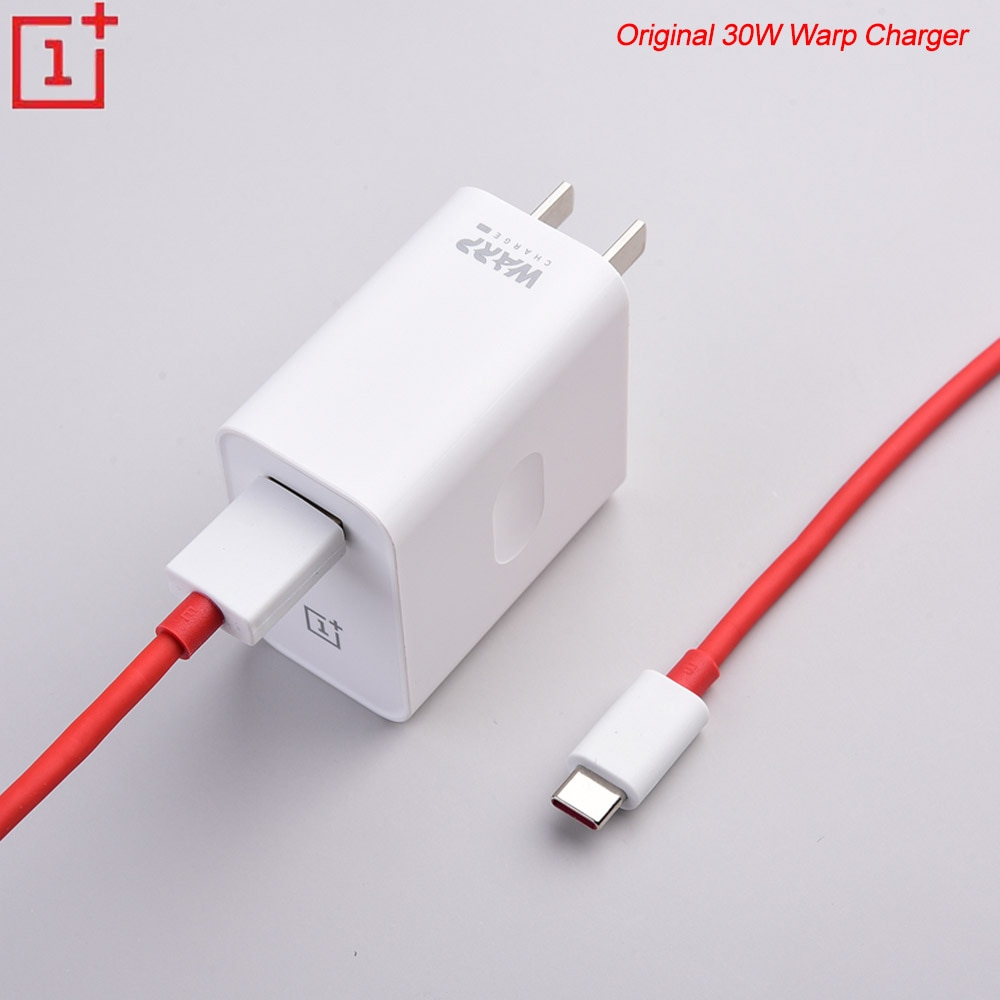 Original Warp cargador 5 V/6A 30W USB rápido adaptador de carga de 1 M/1,5 M USB Warp cable Dash para Oneplus 3T 5T 5T 6T 7T 7 Pro