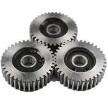3 pièces engrenage diamètre 38 Mm 36 dents en acier engrenage épaisseur 12 Mm véhicule électrique en acier engrenage gee Angle de pression