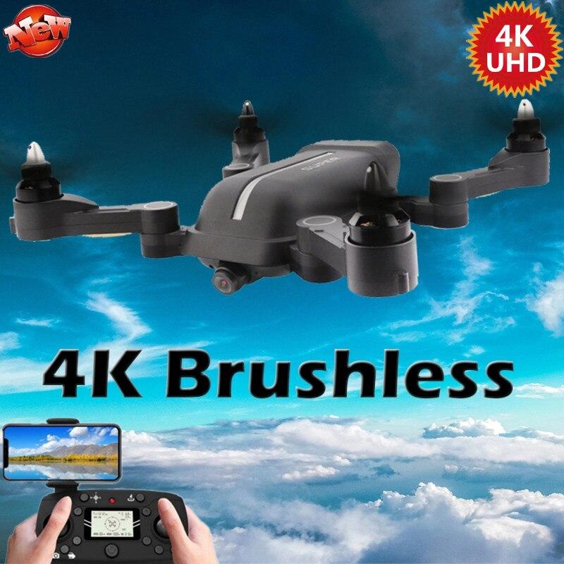 2020 X28 бесщеточный Квадрокоптер складной 5G 6-осевой гироскоп Wifi FPV Дрон с 4K UHD камерой RC вертолет селфи WIFI FPV GPS RC Дрон