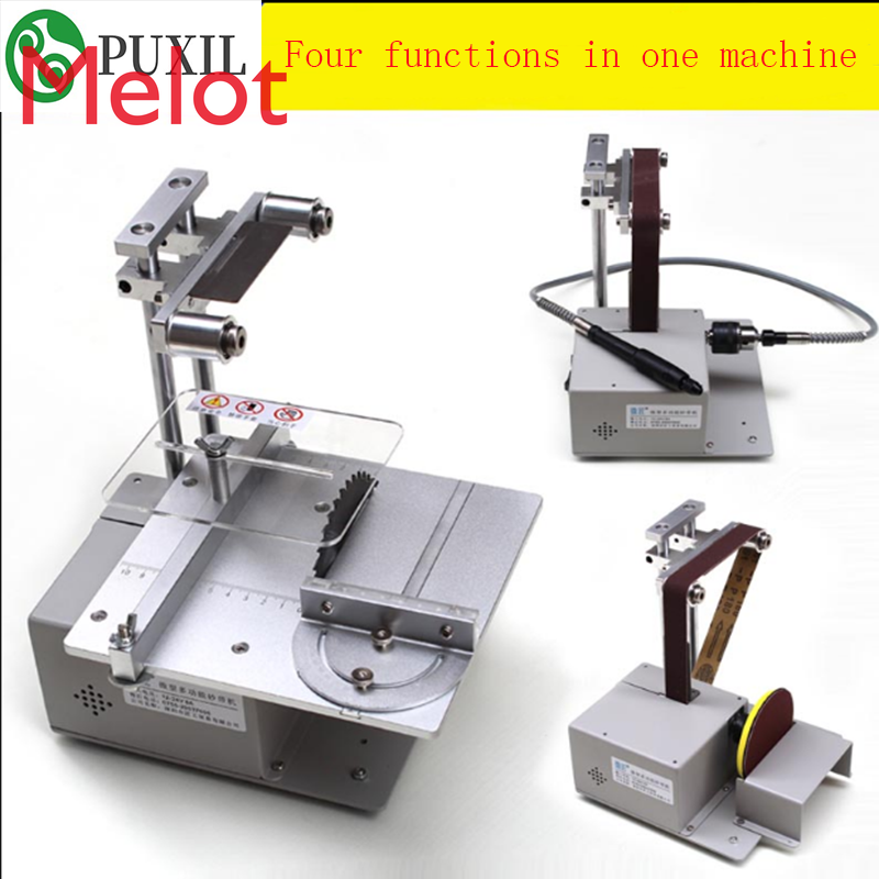 Table saw Micro chainsaw multi-function Mini cutter DIY Woodworking saw precision desktop cutter Woodworking saw enlarge