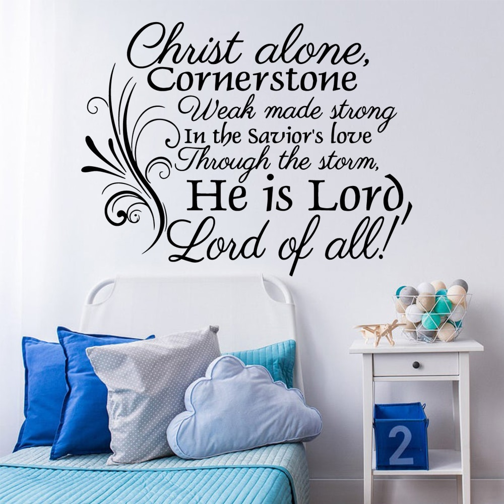 Envío Gratis he is lord, lord of all Wall Stickers adhesivo decorativo...