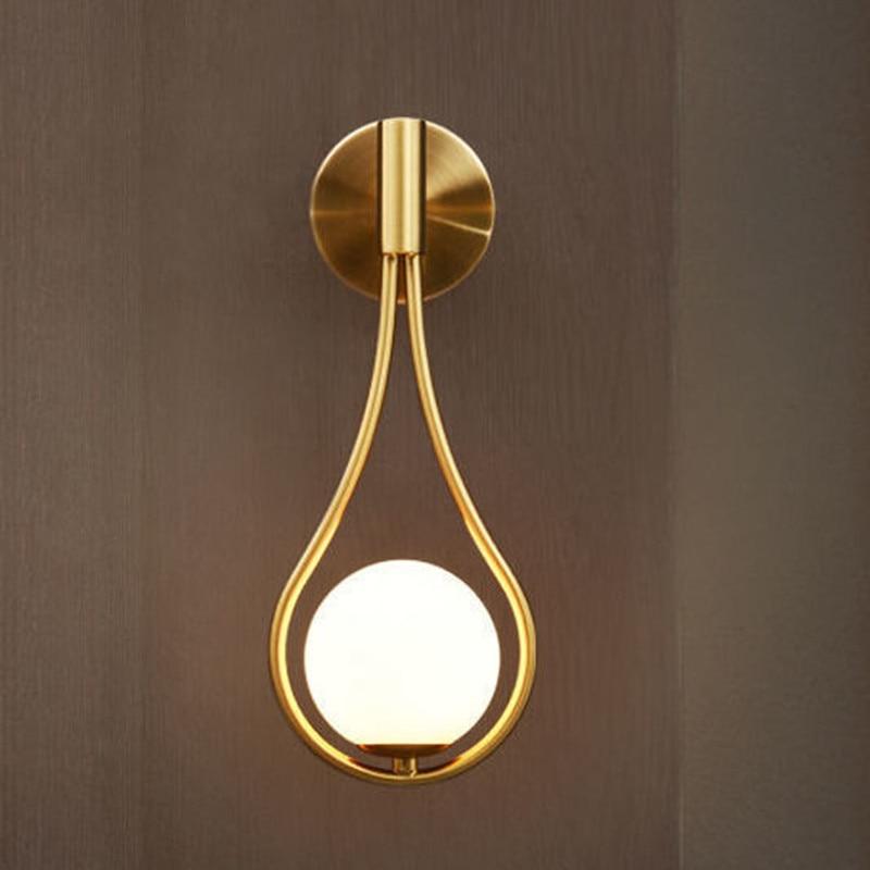 Wall Lamp Drop Design Bedroom Bedside Living Room Dining Room Wall Lamp Wall Type