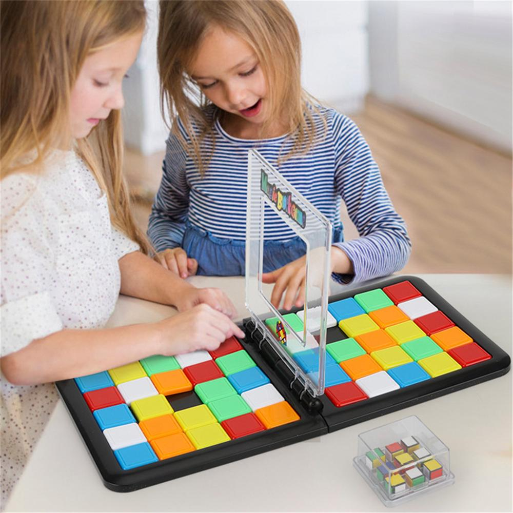 Party Games Children's Educational Double Intelligence Colorful Battle  Rubik's Cube Parent-child Interactive Cube Game Toys - buy at the price of  $11.28 in aliexpress.com   imall.com