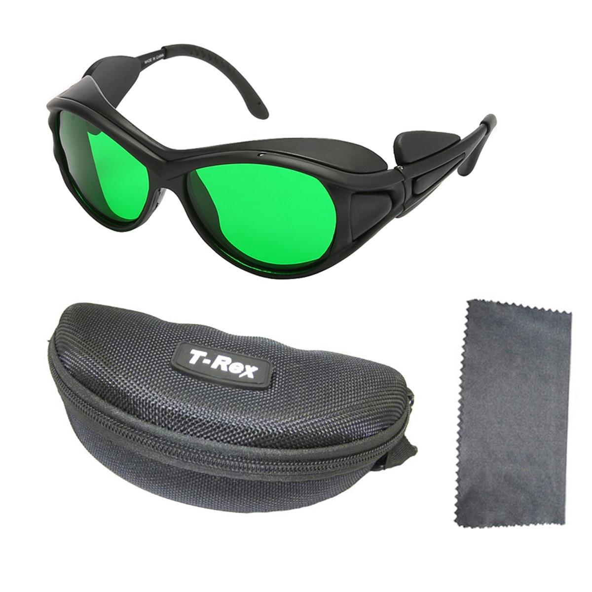 He-Ne-نظارات واقية من الضوء الأحمر ، نظارات واقية من الأشعة فوق البنفسجية شبه الموصلة بالليزر 600-700nm LED