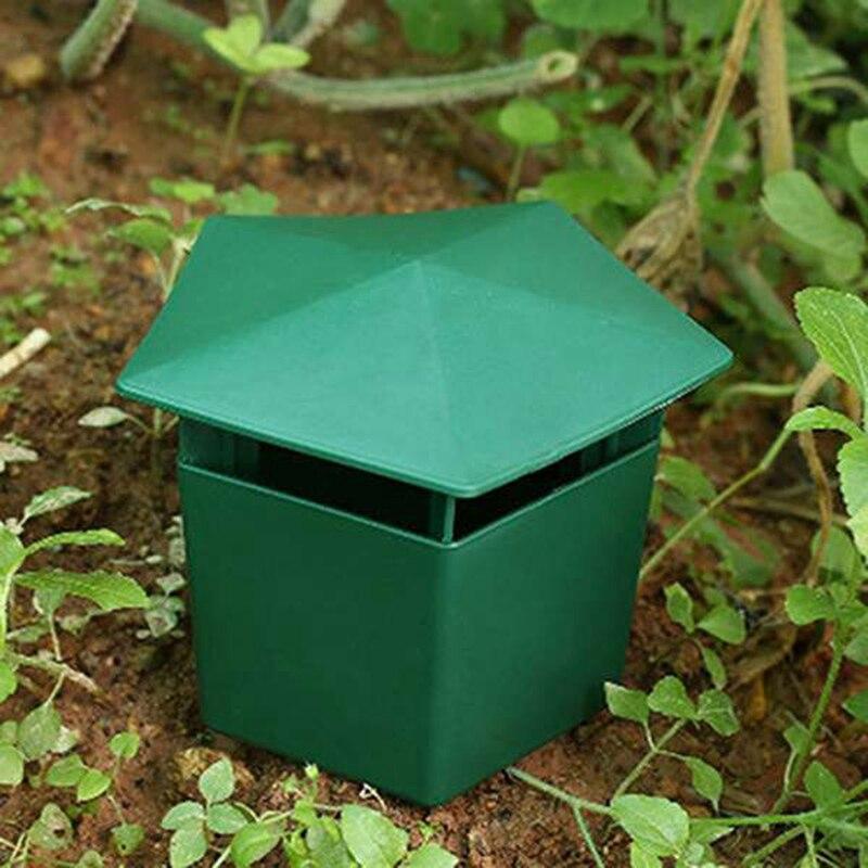 4 Uds jaula de Caracol respetuosa con el medio ambiente casa trampa para Caracol atrapainsectos herramientas de rechazo plagas animales jardín repelente