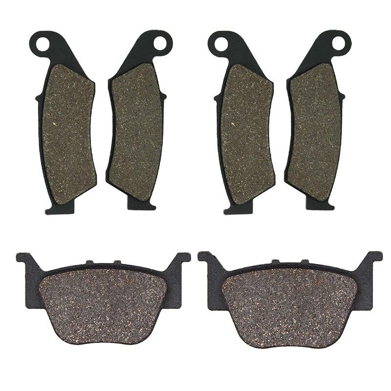 Motorcycle Front and Rear Brake Pads for HONDA TRX450 TRX 450 TRX450R TRX450ER 450ER 2004-2014
