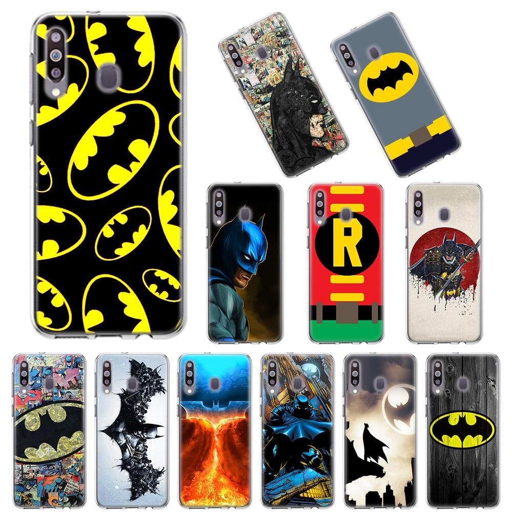 Batman Superhero Soft Case for Samsung Galaxy A10 A10E A20 A20E A30 A40 A50 A70 A11 A41 A51 A71 A91 TPU Cover
