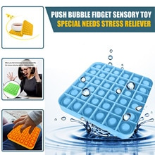 Simple Dimple Popit Toys Push Bubble Sensory Toys Autism Special Needs Stress Reliever  Antistress T