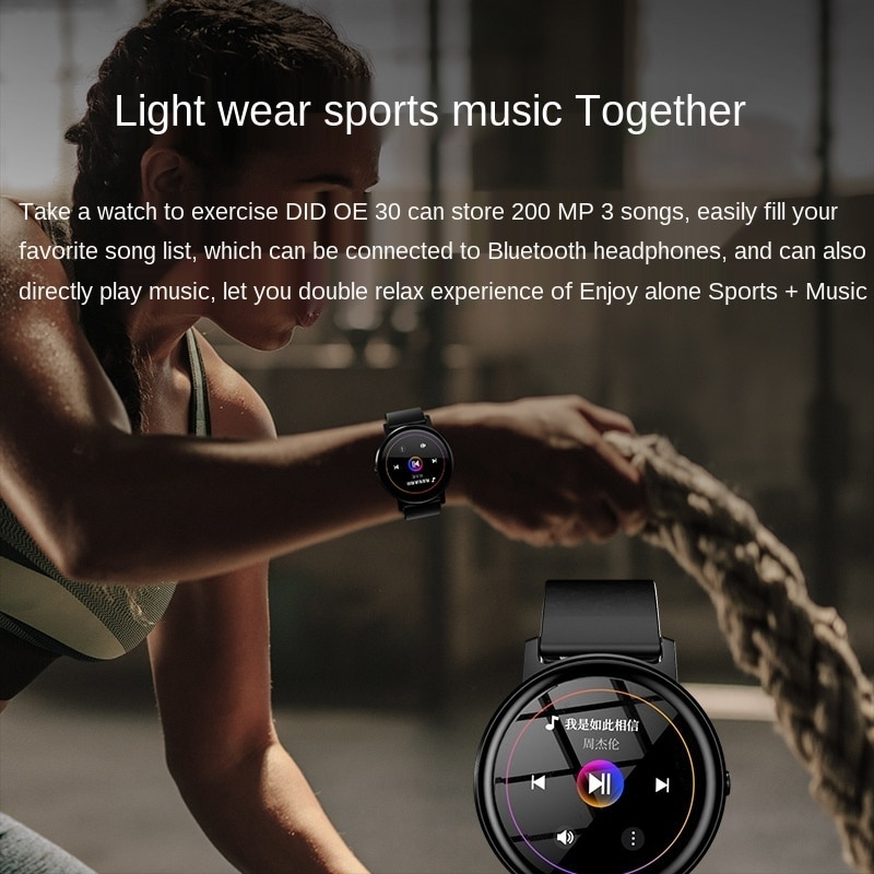 Dido smart for huawei watch 2 ECG heart rate monitor step motion information reminder watch for samsung gear s3 for invicta Sale