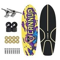 75x23 5cm skateboard commuting cx4 trucks surfing skate board birthday gift