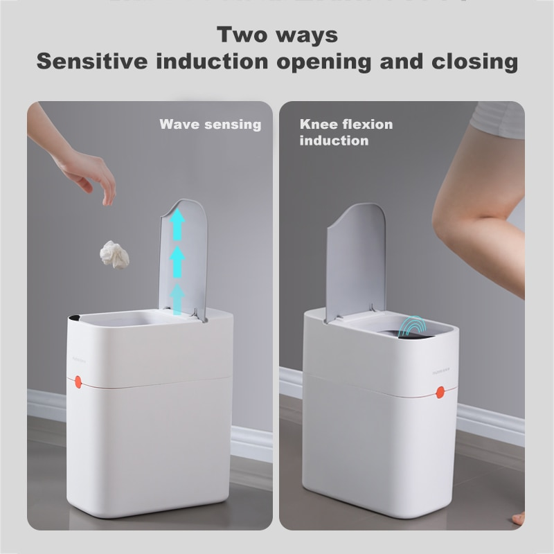 Joybos Smart Induction Trash Can Automatic Dustbin Bucket Garbage For Bathroom Kitchen Electric Touch Trash Bin Paper Basket enlarge
