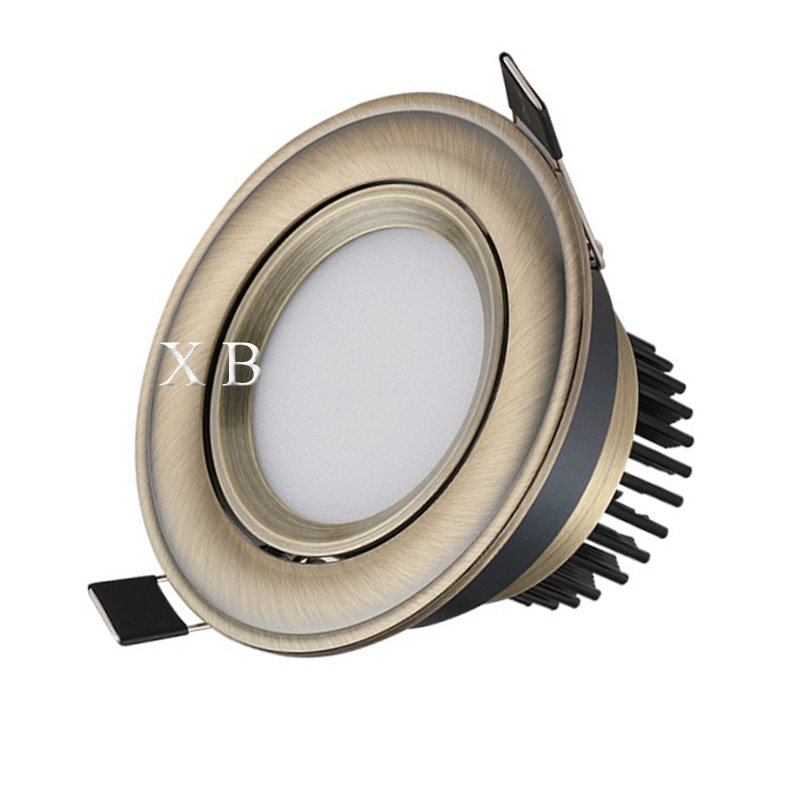 Adjustable Angle Dimmable LED COB Downlight 3W 5W 7W 10W 12W 15W Recessed Ceiling Lamp AC85-265V Downlight Spot Light Home Decor gd dimmable led recessed downlight 3w 5w 7w 10w 12w 15w 20w 24w spot led ceiling down light 110v 220v 230v cob led downlight