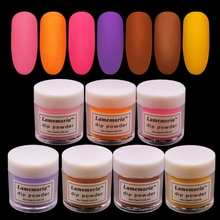 10ml Fast Air Dry Dip Powder Extension Acrylic Powder Set/Kit Glitter Top Coat Base Coat Nail Flakes Sequins Blue Pink Clear