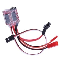 esc 20a brushed motor speed controller w brake for rc car boat tank rc model