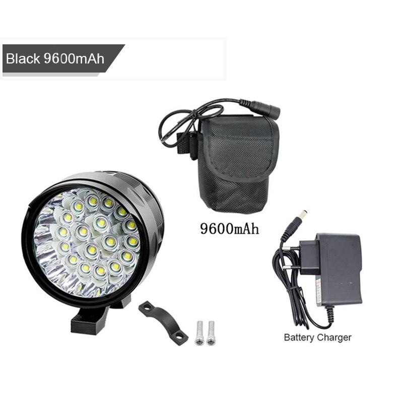 18 * XML-T6 LED دراجة الجبهة ضوء كشافات 3 وضع الدراجات مضيا لوز delantera bicicleta + USB الدراجة الخلفية عودة تحذير مصباح