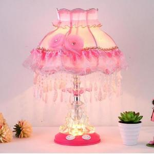 European Table Lamps For Living Room Wedding Room Princess Children Lovely Bedroom Bedside Desk Lamp Factory Direct Sales