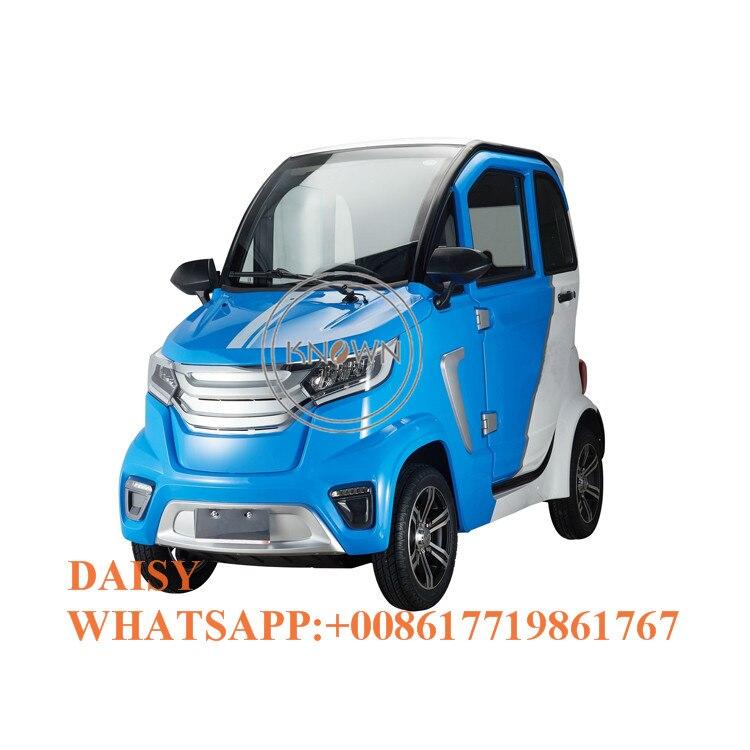 Coc cee certificado elétrico 4 rodas carro de passageiros carro adulto