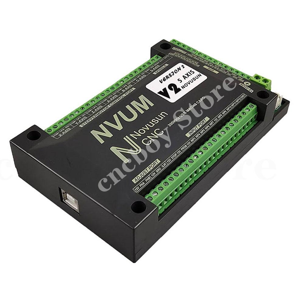 Mach3 USB بطاقة 200KHz NVUM 3 محور/4 محور/5 محور/6 محور نك وحدة تحكم بالحركة الرقيق وظيفة ل السائر ، محرك معزز